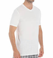 Michael Kors Short Sleeve Modal V-Neck 09M0713