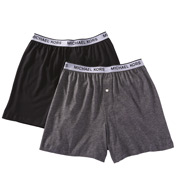 Michael Kors Cotton Modal Knit Boxers - 2 Pack 09M1069