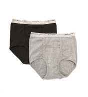 Munsingwear Full Rise Pouch Brief Assorted - 2 Pack MW21A