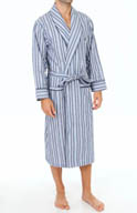 Nautica Sultan Stripe Shawl Collar Robe 103116
