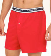 Nautica Solid Knit Boxer 308341