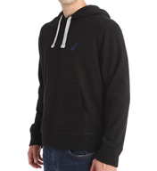 Nautica Solid Pop Over Hoodie Fleece K53791