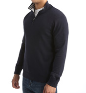Nautica Big and Tall Solid 1/4 Zip Sweater N53600