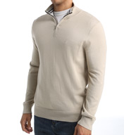 Nautica Solid 1/4 Zip Sweater S53701