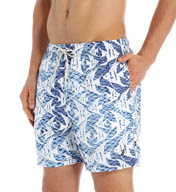 Nautica Angel Fish Print Swim Trunk T51213