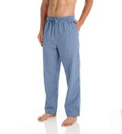 Nautica Anchor 100% Cotton Plaid Sleep Pant WP43S5