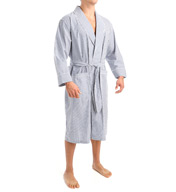 Nautica Anchor 100% Cotton Poplin Robe WR41S5