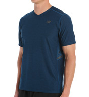 New Balance Shift Short Sleeve Performance Shirt MT53031