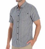 O'Neill Kepler Short Sleeve Pinstripe Woven Shirt 34104111