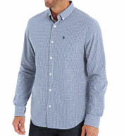 Original Penguin Long Sleeve Gingham Shirt 1BBW311