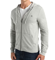 Original Penguin Long Sleeve Front Zip Hoodie B0226