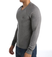 Original Penguin Pima Cotton V-Neck Sweater F5001
