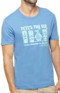 Original Penguin Tiki Pete Crewneck Graphic Tee FMK0049