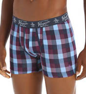 Original Penguin Cypress Plaid Knit Boxer Brief RPM3108