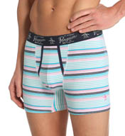Original Penguin Fashion Stripe Cotton Spandex Boxer Brief RPM3122