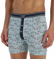 Original Penguin Retro Girls Print Cotton Spandex Boxer Brief RPM3131
