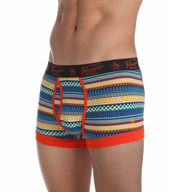 Original Penguin Cotton Stretch Sapphire Geo Stripe Trunk rpm3133