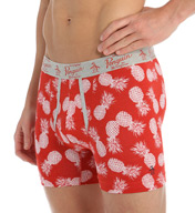 Original Penguin Fashion Pineapple Print Cotton Spandex Boxer Brief RPM3145