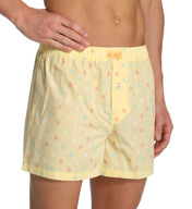 Original Penguin Signature Penguin 100% Cotton Woven Button Boxer RPM3244