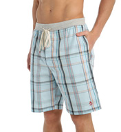 Original Penguin Miami Plaid 100% Cotton Sleep Short RPM7214