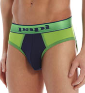 Papi Cross Roads Performance Low Rise Brief 553503