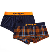 Papi Microflex Plaid Performance Trunks - 2 Pack 626119