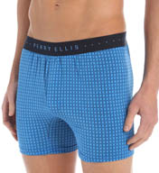 Perry Ellis Trim Luxe Microfiber Stretch Boxer 163011