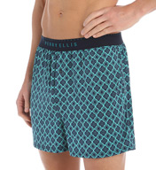Perry Ellis Luxe Medallion Microfiber Stretch Boxer 163032