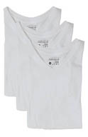 Perry Ellis Basics V-Neck T-Shirts - 3 Pack 548105