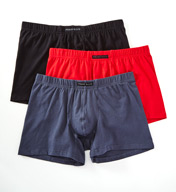 Perry Ellis Cotton Stretch Boxer Briefs - 3 Pack 960556R