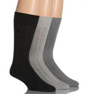 Polo Ralph Lauren Embroidery Socks 3-Pack 8092