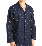 Polo Ralph Lauren Polo Play Print 100% Cotton Sleep Top L008