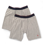 Polo Ralph Lauren Supreme Comfort Long Leg Boxer Brief - 2 Pack L040