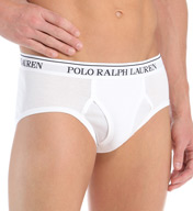 Polo Ralph Lauren Classic Fit 100% Cotton Low Rise Briefs - 4 Pack LCBF