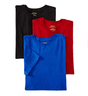 Polo Ralph Lauren Classic Fit 100% Cotton Crew Shirts - 3 Pack LCCN
