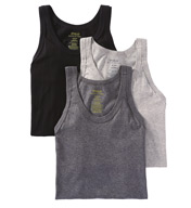 Polo Ralph Lauren Slim Fit 100% Cotton Tanks - 3 Pack LSTK