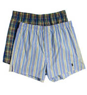 Polo Ralph Lauren Slim Fit Stretch Woven Boxers - 2 Pack P652