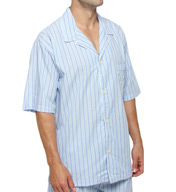 Polo Ralph Lauren Woven Cotton Short Sleeve Pajama Top P757