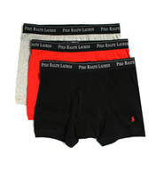Polo Ralph Lauren Solid Boxer Briefs - 3 Pack RS71A