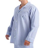 Polo Ralph Lauren Tall Man Woven Cotton Long Sleeve Pajama Top RY24