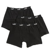 Puma Cotton Moisture Wicking Boxer Briefs- 3 Pack 0011524