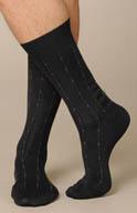 Punto Cotton Lisle Fancy Anklet 302008