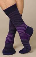 Punto Two Tone Stripe Anklet 302133