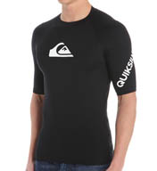Quiksilver All Time Short Sleeve Surf Shirt Rash Guard AQYWR030
