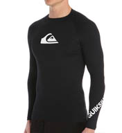 Quiksilver All Time Long Sleeve Surf Shirt Rash Guard AQYWR301