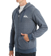Quiksilver Everyday Cotton Heather Zip Hoodie EQYFT317