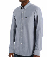RVCA That'll Do Oxford Long Sleeve Shirt M3515TDL