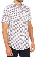 RVCA Drops Short Sleeve Button Down Shirt M4511DRO