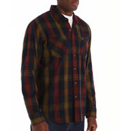 RVCA Warehouse Long Sleeve Woven Shirt M8509WAR