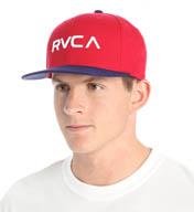 RVCA RVCA Twill Snapback Hat MAAHWRSB